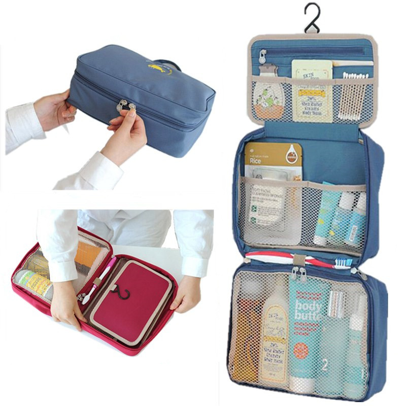 Mini Portable Foldable Travel Bag Fashion Women Toiletries ...