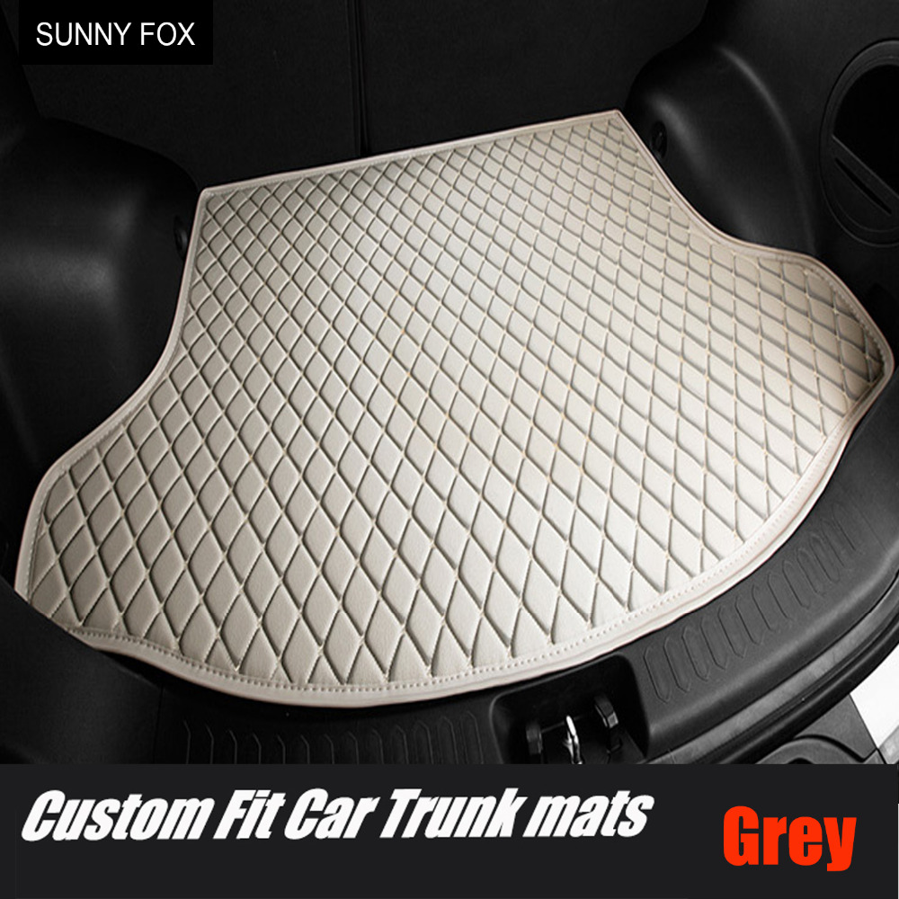 Custom fit Car trunk mats cargo Liner for <font><b>Lexus</b></font> <font><b>NX</b></font> 200 200T <font><b>300h</b></font> NT200 NX200T NX300H <font><b>F</b></font> <font><b>Sport</b></font> RX waterproof car-styling leather c image