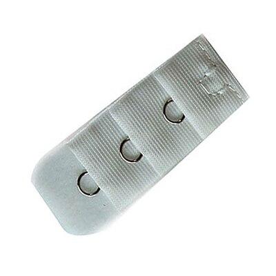 5 шт., расширители для бюстгальтера, удлинение пряжки, 3 крючка, 1, 2, 3, 4, 5 крючков, расширитель для бюстгальтера, инструмент для шитья, аксессуары для женщин - Цвет: White 1 buckle