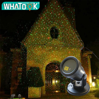Outdoor Christmas Laser Projector Lamp Waterproof Full Sky Star Stage Spotlight Xmas pattern laser lamp For Garden Party Holiday