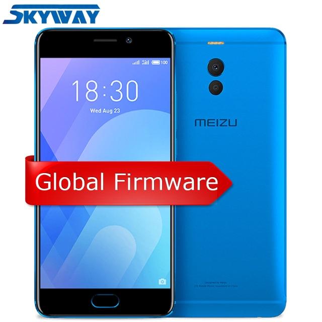 Chính thức Meizu M6 Note 4G LTE 3 GB 16 GB 32 GB Điện Thoại di động Android Snapdragon 625 Octa Core 5.5 ''Dual PD Camera 4000 mAh Vân Tay