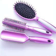 NEW3Pcs/Set Gasbag Massage Smooth Straightening Comb Hair Care Hair Anti-static Hair Comb Hair Dressing Brush Salon StylingTools