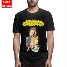 Beavis And Butthead T shirt Tee Shirt Good Camiseta Organic Cotton S-6XL Big Size Tshirt Hip hop Tees Casual New Arrival