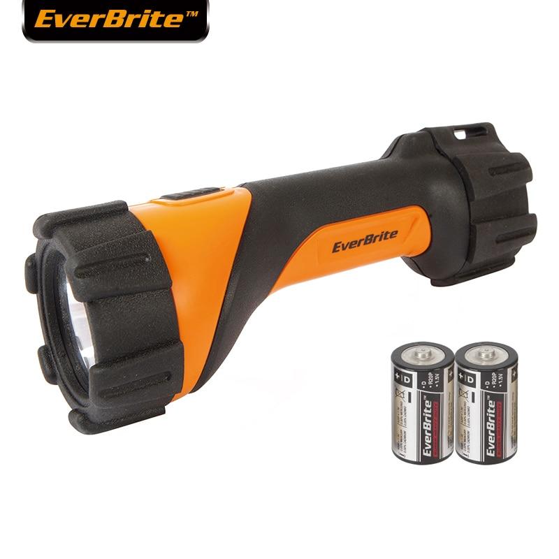 Everbrite 3W LED Flashlight Heavy Duty Flashlight Linterna