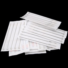 50pcs Mixed Tattoo Disposable 304 Medical Needles Stainless Steel For Gun Liner Shader Permanent Makesup Body Arts Kit