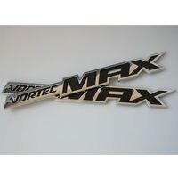 2PCS Auto Car 2006 2009 VORTEC MAX Emblem Badge Sticker For SILVERADO SS