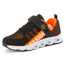 Boys Shoes Kids Breathable Children Brand Non-slip Sneakers Sport Outdoor Girl TC-B07