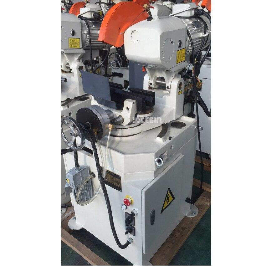 YJ315Q scie circulaire en métal de haute qualité scie circulaire professionnelle verticale Machine de découpe de tuyaux 380 V 1.8/2.4KW 110 MM