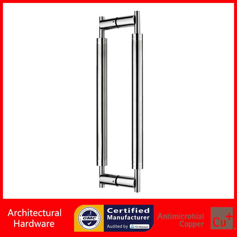 Entrance Door Handle, 304 Stainless Steel Pull/Push Handles For Timber/Glass Doors PA 169 38*600mm