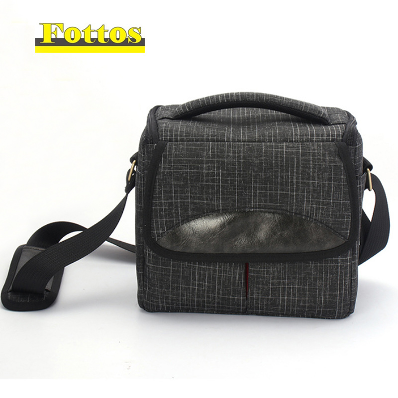 high quality Camera Bag for Fujifilm XT1 XT2 XA10 XA20 X-A5 XA3 XA2 XA1 XE2 X-E3 XE2S with two lens SLR shoulder bag shoockproof