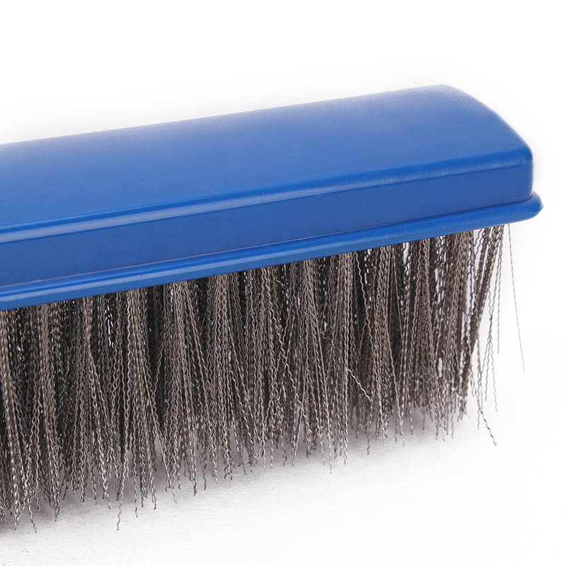 10 Inch Wide Swimming Pool Spa Algae Brush with Stainless Steel Bristles Hot Sale in Cleaning Tools from Home Garden