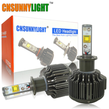 CNSUNNYLIGHT H3 LED light 30W 3600LM 5500K Car Fog Light DRL Low Consumption High lumen Kit White 12V 24V Also for Moto