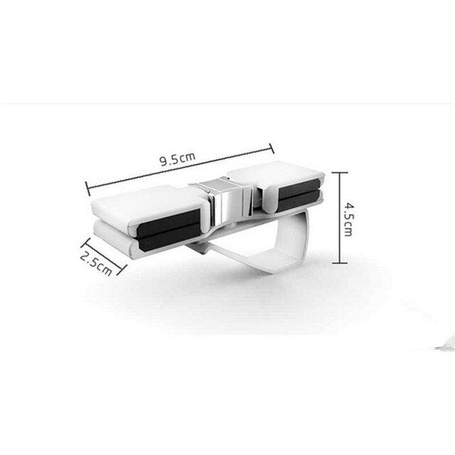 Car Sun Visor Glasses Sunglasses Storage Holder glasses For nissan qashqai  j11 mazda ford mustang mazda mx5 hyundai i10 vw caddy 326aaa78abd