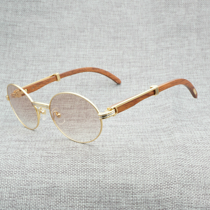 7f4051f474e Detail Feedback Questions about Vintage Natural Buffalo Horn Sunglasses Men  Wooden Clear Glasses Frame Wood Round Sun Glasses for Summer Outdoor Oculos  ...