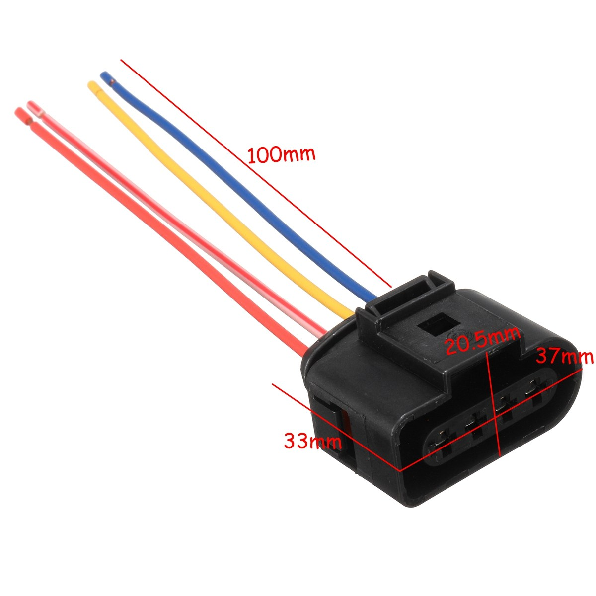 Aliexpress.com : Buy New Ignition Coil Connector Plug Pack Wiring Loom For  AUDI /VW /SKODA SEAT /FORD 1J0973724 from Reliable plug connector suppliers  on My ...