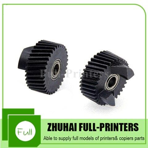 2 pcs novo compativel fuser drive gear para xerox dc4110 4112 4127 900 1100 d110