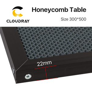 Image 3 - Cloudray Honeycomb Working Table 300*500 mm Customizable Size Board Platform Laser Parts  for CO2 Laser Engraver Cutting Machine