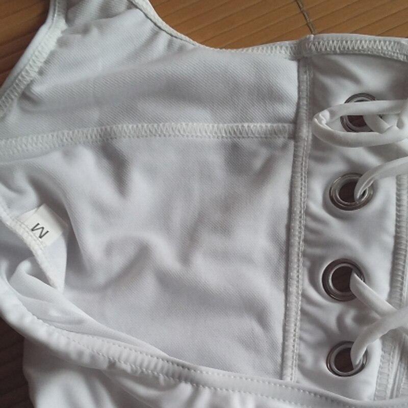 Sexy Monokini Լողազգեստներ Մի կտոր New Style Plus - Սպորտային հագուստ և աքսեսուարներ - Լուսանկար 4