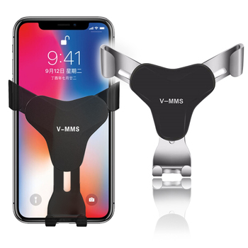 Car Phone Holder Universal Air Vent Mount Clip Cell Holder Stand For iPhone Samsung Huawei lite