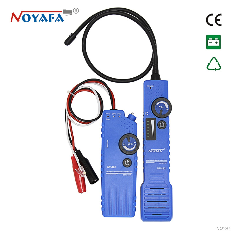 noyafa NF-823 electric cable finder length 1km SCAN underground cable locator 0-1m usb lan cable tester