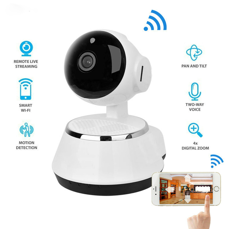 NEW 720P HP IP Camera Wireless Surveillance Camera Support Microphon P2P CCTV Wifi Ip Camera Home Security Cam Baby Monitor hikvision ds 2cd2442fwd iw wifi camera 4mp ir cube wireless ip camera poe ip camera baby monitor wireless security cam
