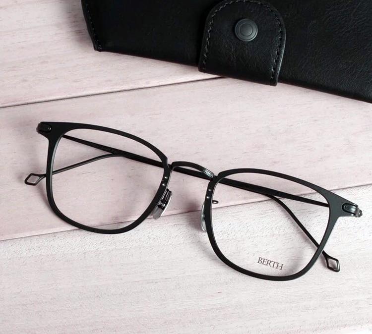 aeaaa1eb8e27 Metal Full Rim Glasses Men Big Size Rectangle Prescription x h-fusion Eyeglass  Frames For Optical Lenses Myopia and Reading