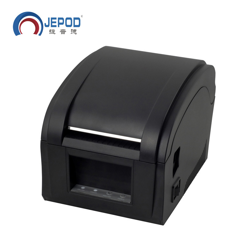 Printer me etiketë termik XP-360B printer barcode printer 20 mm deri 80 mm printer barcode termik