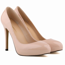 WOMENS PU Leather HIGH HEEL POINTED TOE CORSET STYLE WORK PUMPS COURT SHOES US4-11  806-2PA