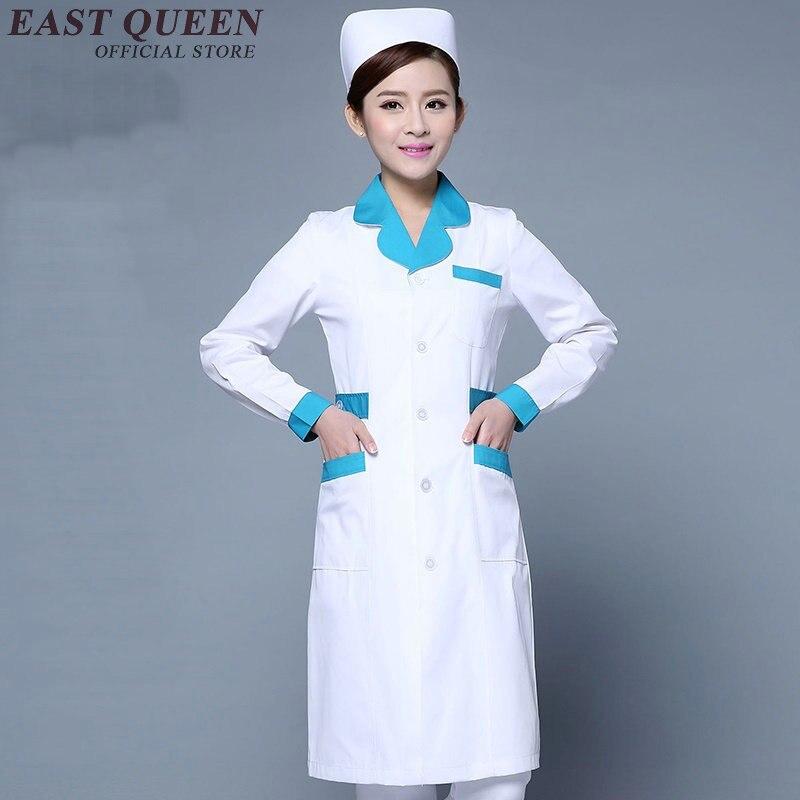 Hospital nurse medical uniforms clothing medical scrubs women nurse work clothes nurse uniform design white KK425