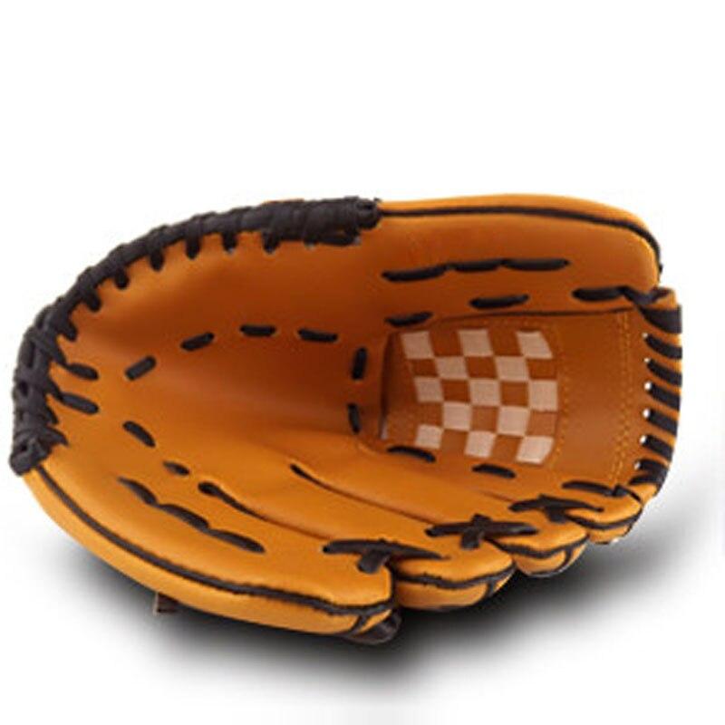 9,5 10,5 11,5 12,5 Zoll Kinder Erwachsene Links Hand Hohe Qualität Baseball Handschuh Nicht-slip Super Weiche Tragen Wider Moderater Preis Sporthandschuhe