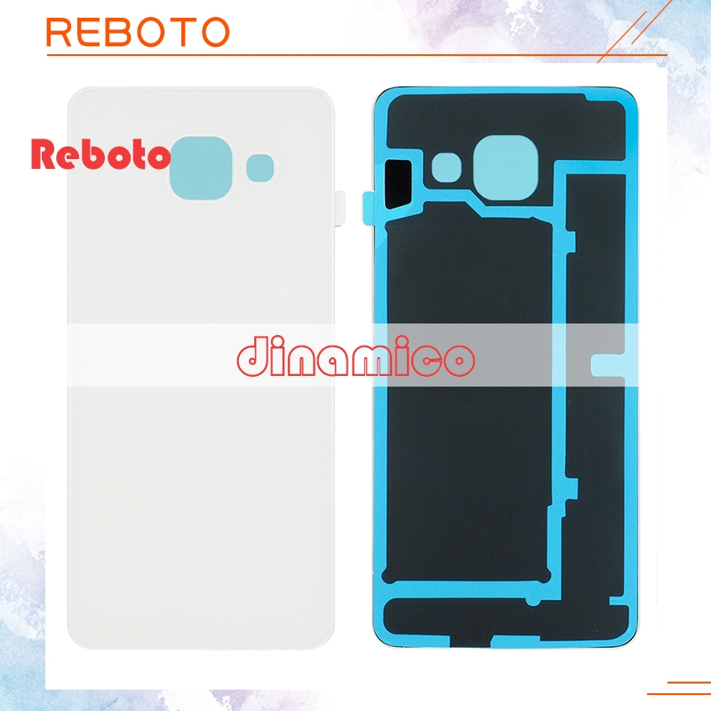 Reboto 1 pcs Livraison gratuite A310 Logement Couvercle En Verre Pour Samsung Galaxy A3 2016 Couverture Arrière Cas A310 Batterie Arrière porte