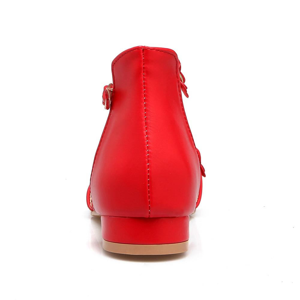 L'école De Fleur Fille Femme 2018 Rose Chaussures rouge D'été Casual Femmes blanc Plates Douce Nouveau Sandales Boucle fwxOg