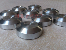 4PCS  stainless steel Pads Suitable For Speaker Amplifier CD player
