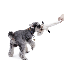 Cute Dog Toys Stuffed Squeaking Animals Pet Dog Toys Plush Puppy Honking Squirrel for Dogs Cat Chew Squeaker Squeaky Toy for Pet