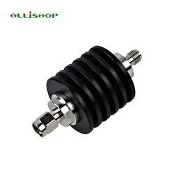 ALLiSHOP 10 W atenuador 1db a 40dB SMA macho a SMA hembra DC-3.0GHZ 50ohm RF coaxial energía
