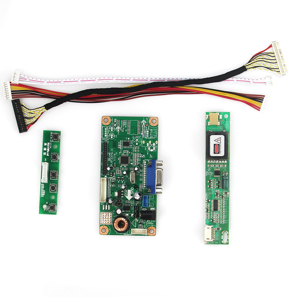 LCD Control Driver Board VGA For LTN150XB-L03 1024x768 LVDS Monitor Reuse Laptop