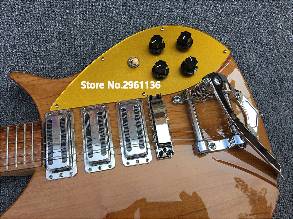 High quality rickenbacker electric guitar, two alder bodies, maple\'s ...