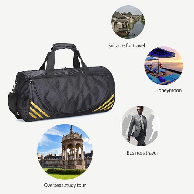 Training Gym Bags Fitness Travel Outdoor Sports Bag Handbags Shoulder Dry Wet Shoes For Women Men Sac De Sport