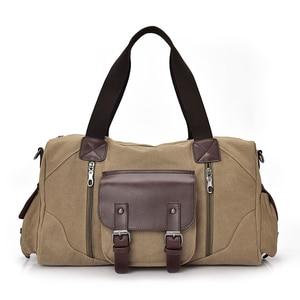 Image 3 - Manjianghong高品質hotメンズキャンバスバッグカジュアル野生大容量ハンドバッグシンプルなファッションのショルダーバッグメッセンジャーバッグ