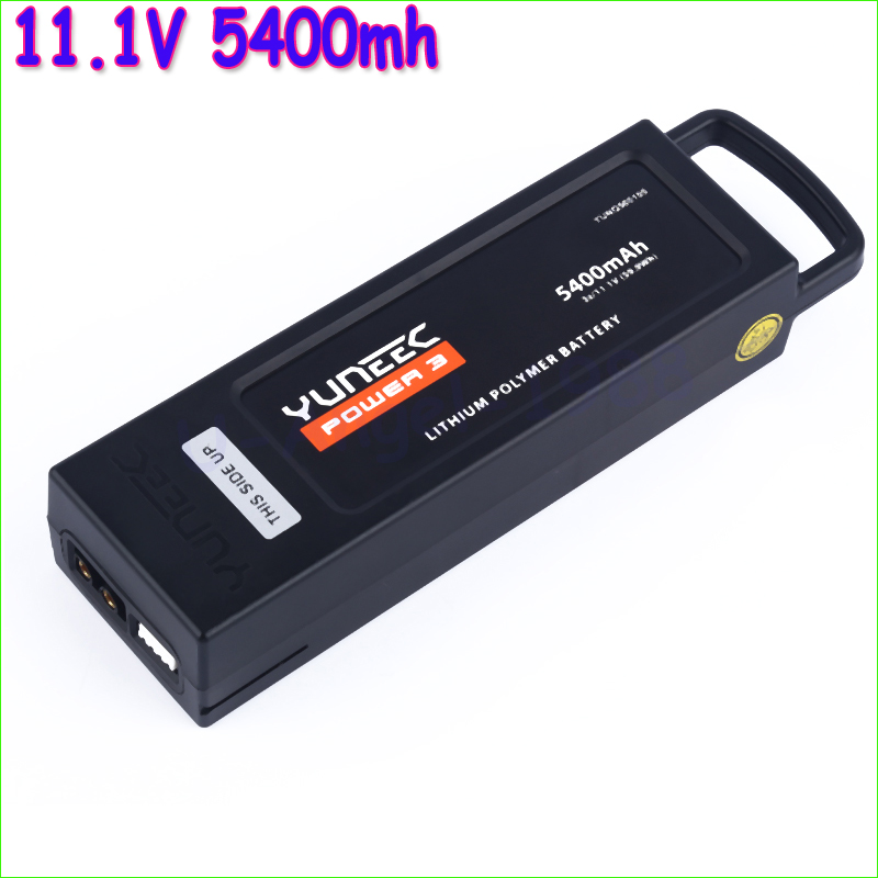 1pcs Yuneec Q500 Battery 5400mh 3S/11.1V(59.9WH) Replacement Aerial Battery Replacement For Yuneec Q500 Drone Wholesale