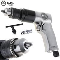 TORO Practical TR 5100 3/8 1800rpm High speed Cordless Pistol Type Pneumatic Gun Drill Reversible Air Drill for Hole Drilling