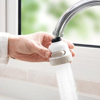 Rotatif Salle De Bains Cuisine Accessoires Économiseur D'eau 3 Modes Filtre