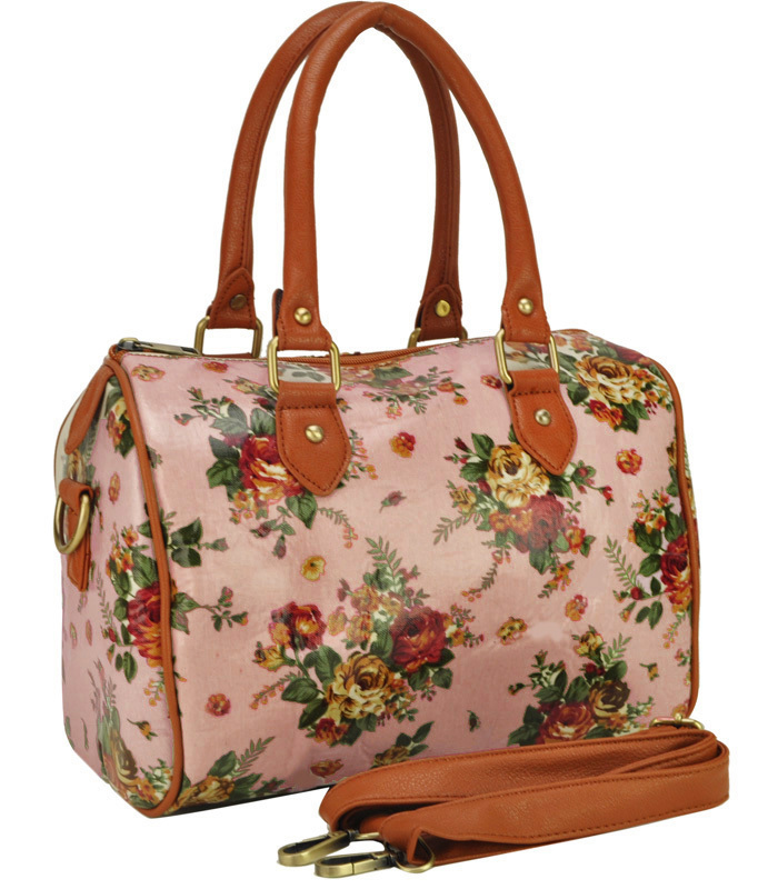 Women Handbags Oilcloth Bags Wild Flowers Print Design Tote Bag S Shoulder Travel Aqq1837 In Top Handle From Luggage On