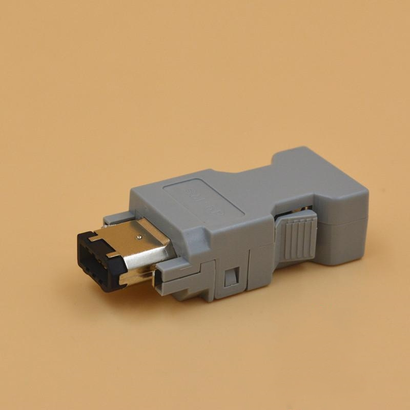 Connector 55100-0670 IEEE1394 Delta Panasonic Yasukawa Molex Servo 6-pin Encoder Connector SM-6P A интерфейс для ноутбука ieee1394