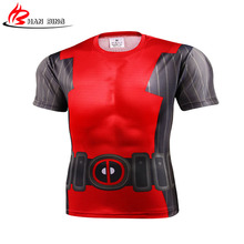 Superheroes avengers captain America round collar short sleeve T-shirt fashion t-shirts wholesale and retail 3 D Printed T shirt