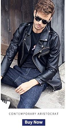 enjeolon бренд искусственная кожа motocycle кожаные куртки человек, большие размеры Размер 3XL куртка пальто человек, стоять стоит прошел мужской черный пальто для будущих мам р202