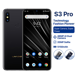 "Image 2 - UMIDIGI S3 PRO Android 9.0 48MP+12MP+20MP 5150mAh 128GB 6GB 6.3"" NFC Global Version Smartphone unlocked octa core mobile phone"