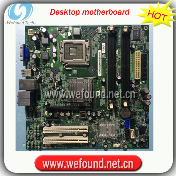 100% Working Desktop Motherboard For 545 545S G33M05 G33MO6 N826N T287N System Board Fully Tested