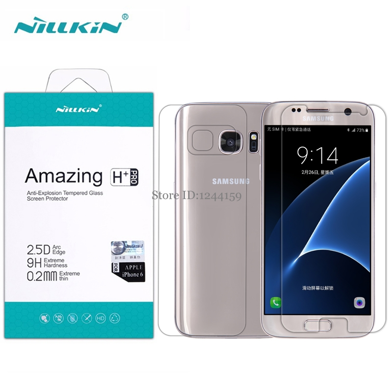 NILLKIN For samsung galaxy s7 tempered glass for Samsung S7 screen protector H+Pro Nano glass for Samsung G9300 protective film