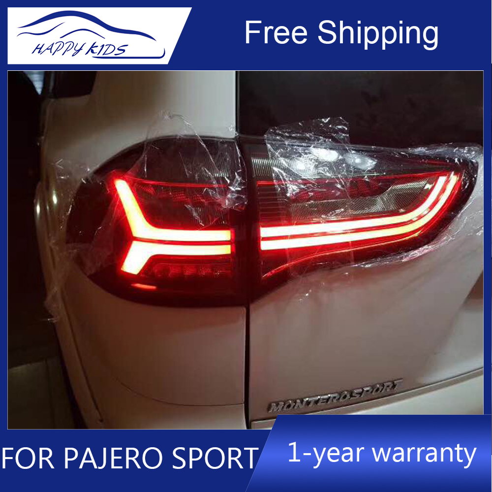 Car styling Tail Lights For Pajero Sport 2013 2015 Tail lamp For Montero sport Tail light
